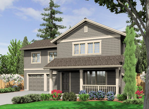 Featured Home Construction Plan House